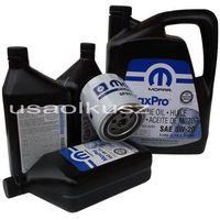 Oryginalny filtr oraz olej MOPAR 5W20 Chrysler 300C 5,7 Hemi -2008
