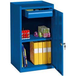 Szafka warsztatowa SERVE, szuflada, 900x500x450 mm, niebieski, 202741