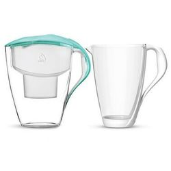 Dafi astra unimax dzbanek filtrujący wodę 3,0 l miętowy + wkład + karafka gratis - darmowa dostawa od 95 zł!