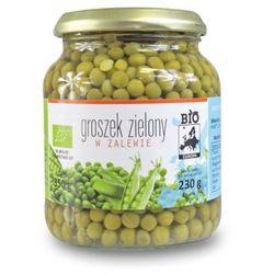 Groszek zielony w zalewie w słoiku bio 350 g (230 g) - bio europa wyprodukowany przez Bio europa (strączkowe