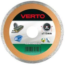 Tarcza do cięcia VERTO 61H3T9 230 x 22.2 mm diamentowa pełna (tarcza do cięcia) od ELECTRO.pl