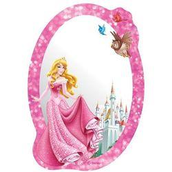 Lustro samoprzylepne dla dzieci Księżniczka, 15 x 21,5 cm, 680641