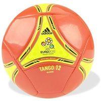 Adidas Piłka nożna  tango 12 glider 5 czerwono-żółta - czerwono-żółta ||biało - czarny