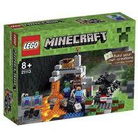 Lego MINECRAFT Jaskinia 21113
