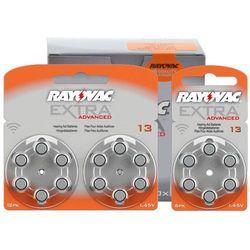 30 x baterie do aparatów słuchowych Rayovac Extra Advanced 13 MF (bateria elektryczna)