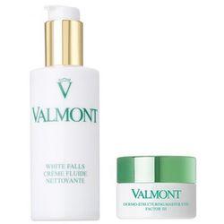 Valmont Zestaw pielęgnacja skóry pod oczami | White Falls mleczko do demakijażu 125ml, Dermo Structuring Master Eye Factor III 15ml