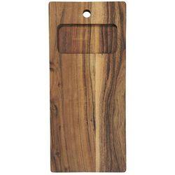 Ib Laursen - Deska do krojenia duża z drzewa akacjowego