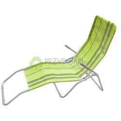 Leżak stalowy plażowy zielony 48062 z kategorii leżaki ogrodowe