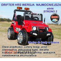 Auto na akumulator Ogromny Raptor Drifter HRS STRONG 2 osobowy 2x45 POJAZDY NA AKUMULATOR DLA DZIECI