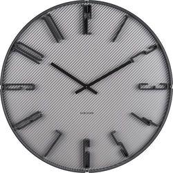 Zegar ścienny Sentient szary, KA5699