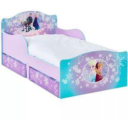 łóżko dziecięce, 2 szuflady, kraina lodu, 140x70 cm worl234023 marki Disney