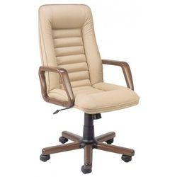 Fotel gabinetowy zorba extra - biurowy, krzesło obrotowe, biurowe marki Nowy styl