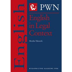 English in Legal Context (ISBN 9788301174279)