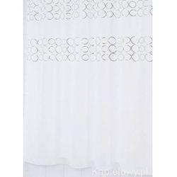 PAILLETE poliestrowa zasłona prysznicowa 180x200 cm 48327