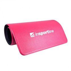 Mata do ćwiczeń z uchwytami  aero 120 x 60 cm - kolor czerwony od producenta Insportline