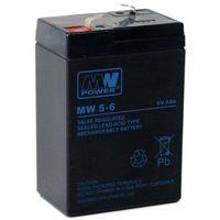 Akumulator żelowy 6,0V/5Ah MW Pb 70x47x101mm 6-9, kup u jednego z partnerów