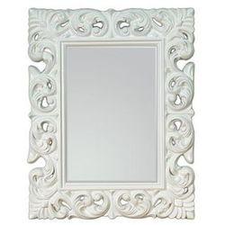 Lustro wiszące Queen 70x90 - biały