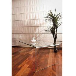 Stolik szklany PRIAM A transparentny - szkło 10mm