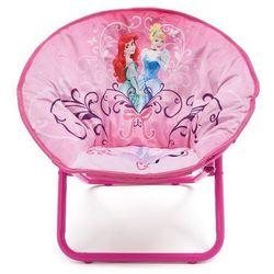 Krzesełko Krzesło dziecięce rozkładane Pufa - Princess