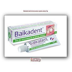 Baikadent zel x 15g (artykuł z kategorii Preparaty na zapalenie dziąseł)