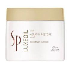 Wella  sp luxe oil keratin protect - maska regenerująca do włosów 400ml, kategoria: odżywianie włosów