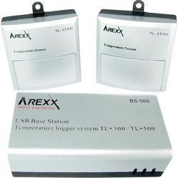 Rejestrator danych pomiarowych  tl-510, mierzone wielkości: temperatura, wilgotność marki Arexx