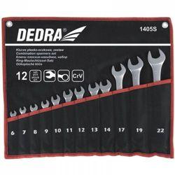 Zestaw kluczy płasko-oczkowych DEDRA 1405S 6 - 22 mm (12 elementów)