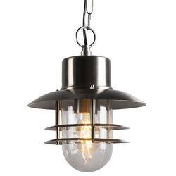 Lampa zewnętrzna Shell wisząca stal z kategorii lampy wiszące