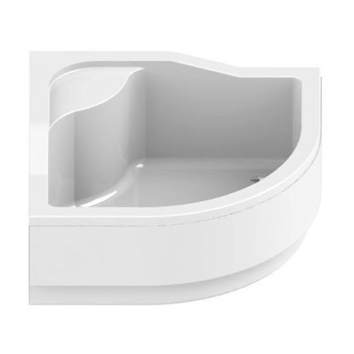 New trendy Półokrągły brodzik modern z podwyższonym siedziskiem 90x90 b-0178 prod.  | promoca - transport