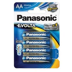 72 x Panasonic Evolta LR6/AA (bateria elektryczna)