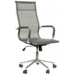 Fotel gabinetowy ne-633 szary - biurowy, obrotowy - krzesło obrotowe marki Stema - ne