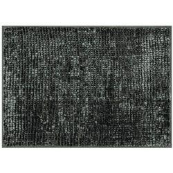 AmeliaHome Dywanik łazienkowy Bati czarny, 60 x 90 cm, 60 x 90 cm, 231632