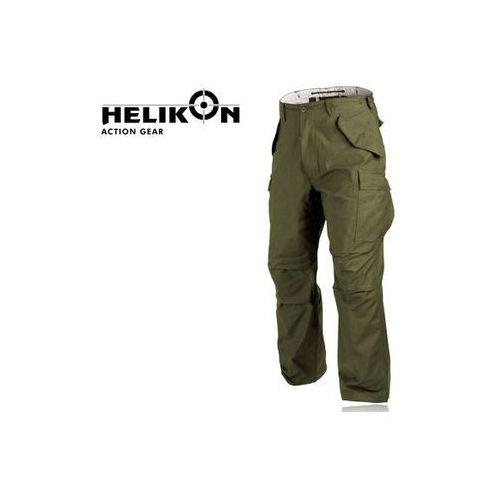 Spodnie Helikon M65 oliwka r. XL (regular) z kategorii spodnie męskie