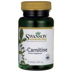 Swanson L-Karnityna (L-Carnitine) 500mg 30 tabl.