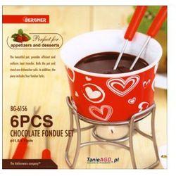 Fondue do czekolady  serca 6 ele. [kh-6153-h], marki Kaiserhoff