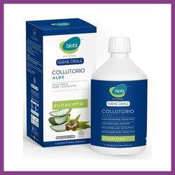 BJOBJ Organiczny płyn do płukania jamy ustnej z wyciągiem z aloesu i olejkiem eukaliptusowym, kup u jednego