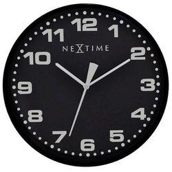 Zegar ścienny Dash czarny (8717713006565)