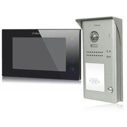 Zestaw cyfrowy wideodomofonu VIDOS S1101A_M1021B czarny