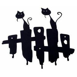 Intesi Wieszak ścienny koty czarny (5900001519073)