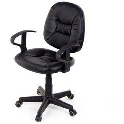 U-fell Fotel biurowy 3031 - czarny
