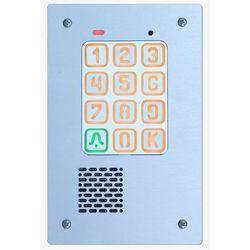 Cyfrowy domofon jednorodzinny z szyfratorem /panel zewnętrzny/, KEC-1P PT GD36