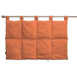 wezgłowie na szelkach, pomarańcz, 90 x 67 cm, jupiter marki Dekoria