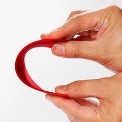 Cuisipro Skrobak silikonowy 15 cm czerwony