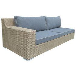 Miloo:: Sofa ogrodowa prawostronna Cloud z poduszkami