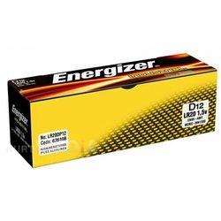 12 x bateria alkaliczna Energizer Industrial LR20 D (7638900361087)
