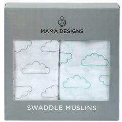 otulacz muślinowy 2szt cloud marki Mama designs