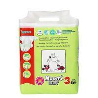 Muumi Ekologiczne pieluszki jednorazowe 3 midi 5-8 kg 25 szt