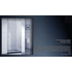 DRZWI PRYSZNICOWE AXISS GLASS AN6211H 700mm (drzwi prysznicowe)