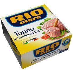 RIO MARE 160g Tuńczyk w oleju słonecznikowym | DARMOWA DOSTAWA OD 200 ZŁ z kategorii Konserwy i przetwory r