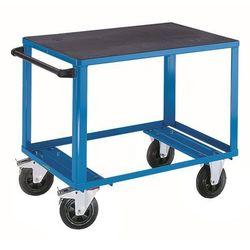 Wózek montażowy, 1 powierzchnia ładunkowa z tworzywa, pow. ładunkowa 1250x800 mm